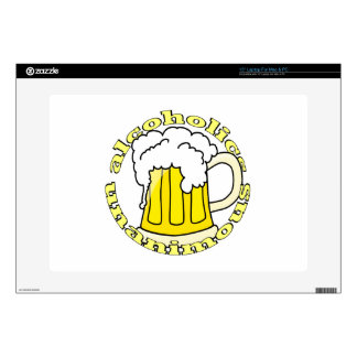 """Alcoholics Unanimous Skin For 15"""" Laptop"""
