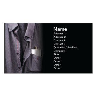Alcoholism Business Card Templates