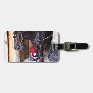 Alcolite- Horse Haven Barns at Saratoga Luggage Tags