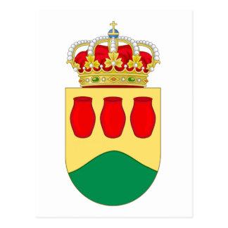 Alcorcón (Spain) Coat of Arms Postcard