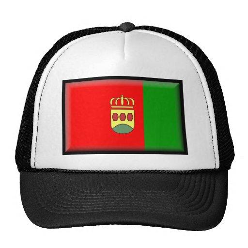 Alcorcón (Spain) Flag Mesh Hats