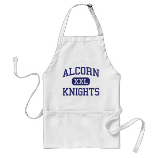 Alcorn Knights Middle Columbia Adult Apron