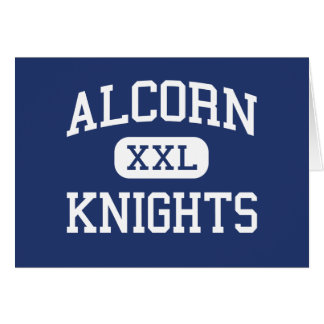 Alcorn Knights Middle Columbia Greeting Card