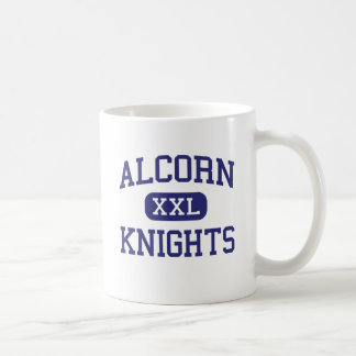 Alcorn Knights Middle Columbia Classic White Coffee Mug