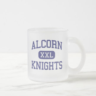 Alcorn Knights Middle Columbia 10 Oz Frosted Glass Coffee Mug