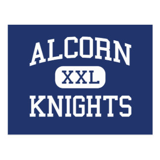 Alcorn Knights Middle Columbia Postcard