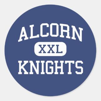 Alcorn Knights Middle Columbia Classic Round Sticker