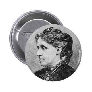 Alcott ~ Louisa May Novelist Writer Pinback Button