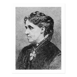 Alcott ~ Louisa May Novelist Writer Postcard