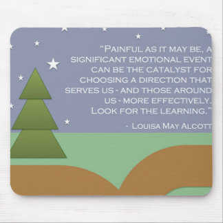 Alcott's Encouragement & Learning Mouse Pad