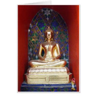 Alcove Buddha Greeting Card