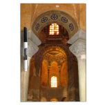 Alcove Pillars Dry-Erase Whiteboard