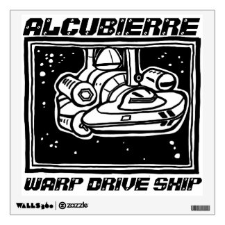 Alcubierre Ship decal by ParanormalPrints
