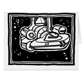 Alcubierre Warp Drive big card - ParanormalPrints