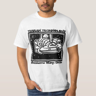 'Alcubierre Warp Drive Ship' by Paranormal Prints Tee Shirt