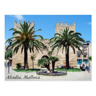Alcudia, Mallorca Postcard