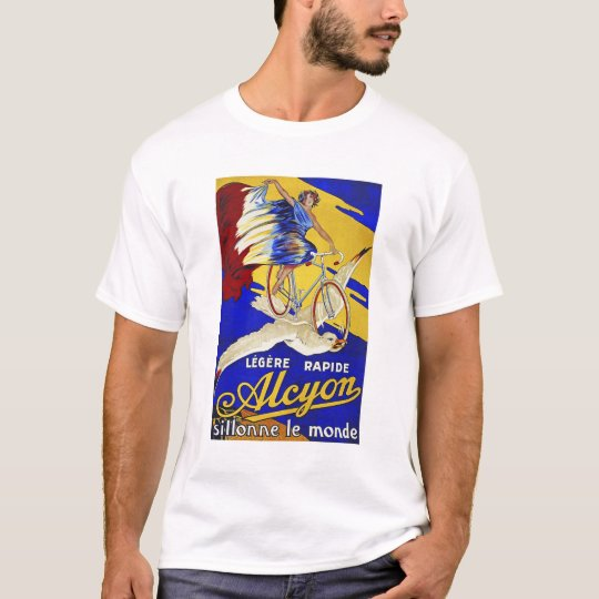 Alcyon Cycles - Vintage Bicycle Art T-Shirt