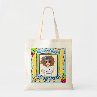ALD AWARENESS MOMMA TOTE BAG