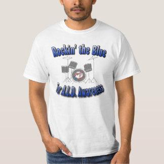 ALD Awareness rockin the Blue T-Shirt
