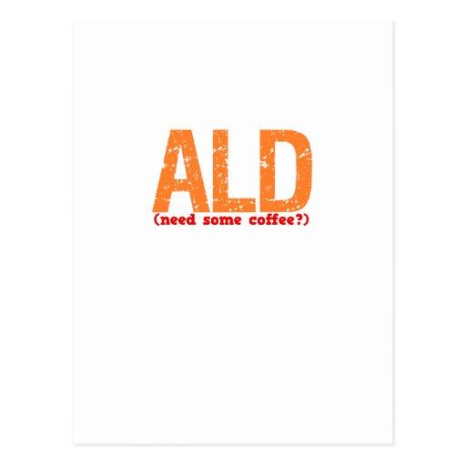 ALD Description Postcard