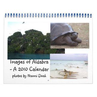 Aldabra Wildlife Calendar - 2010