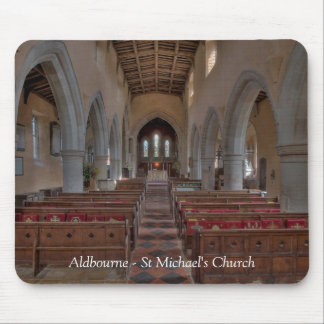 Aldbourne St Michael's Church Mouse Pad