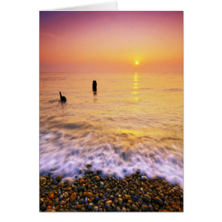 Aldeburgh Beach Suffolk 10. - Customized Card