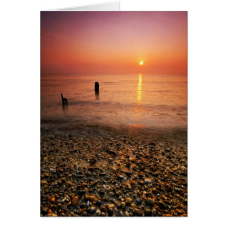 Aldeburgh Beach Suffolk 11. - Customized Card
