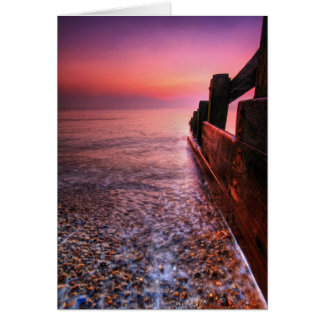 Aldeburgh Beach Suffolk 3. - Customized Card