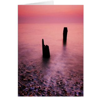 Aldeburgh Beach Suffolk 4. - Customized Card