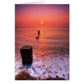 Aldeburgh Beach Suffolk 5. - Customized Card