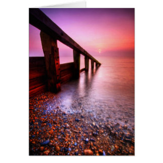 Aldeburgh Beach Suffolk 6. - Customized Card