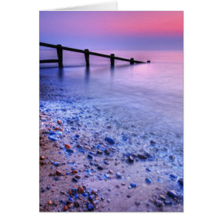 Aldeburgh Beach Suffolk 7. - Customized Card