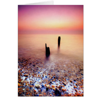 Aldeburgh Beach Suffolk 8. - Customized Card