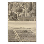 Alden residence, Harmon Tract Greeting Card