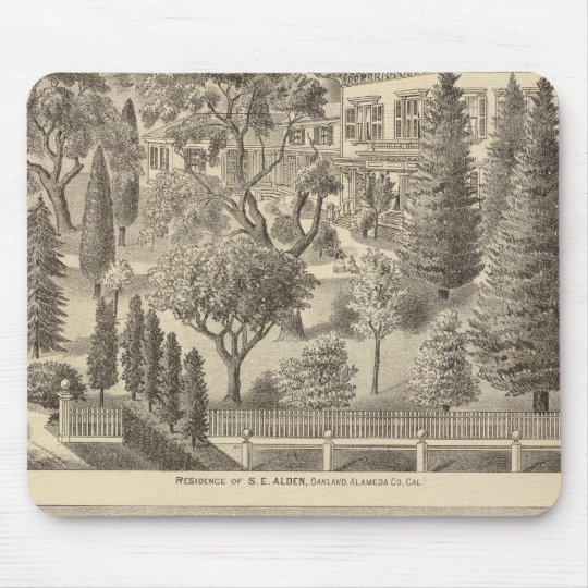 Alden residence, Harmon Tract Mouse Pad