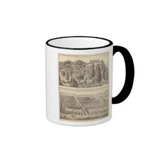 Alden residence, Harmon Tract Ringer Mug