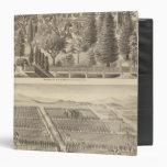 Alden residence, Harmon Tract Vinyl Binder