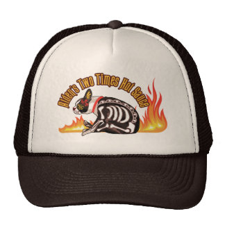 Alden's Two Times Hot Sauce Hat