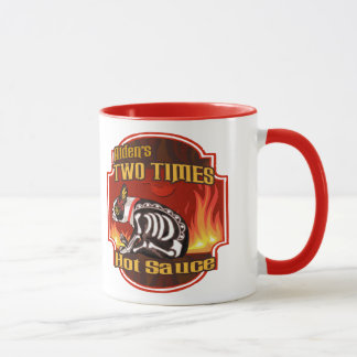 Alden's Two Times Hot Sauce Mugs