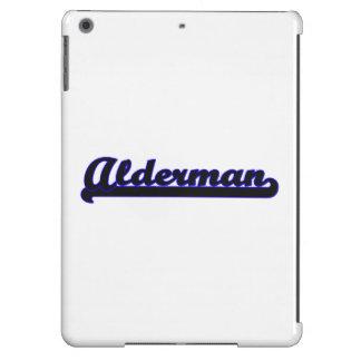 Alderman Classic Job Design iPad Air Cases