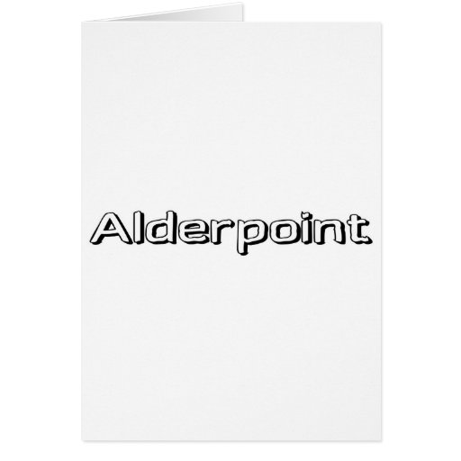 Alderpoint Greeting Card