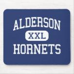 Alderson - avispones - joven - Lubbock Tejas Alfombrilla De Ratón