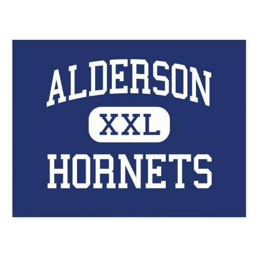 Alderson - avispones - joven - Lubbock Tejas Tarjeta Postal