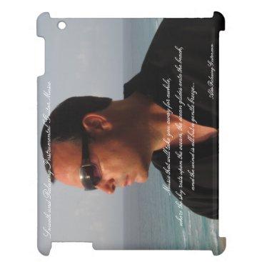 Beach Themed ALDO Relaxing Guitar Music iPad Case 1