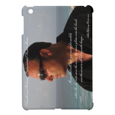 Beach Themed ALDO Relaxing Guitar Music iPad Mini Case 1
