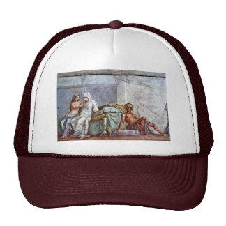Aldobrandini Wedding Details: Bride Aphrodite And Trucker Hat
