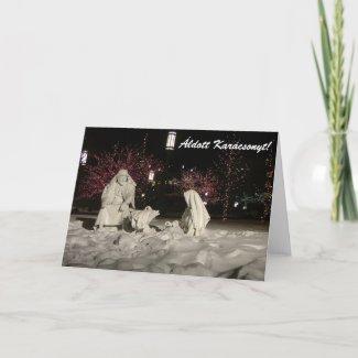 Áldott Karácsonyt card