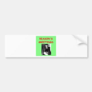 aldous huxley bumper stickers