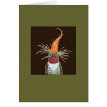 Aldous the hummingbird card